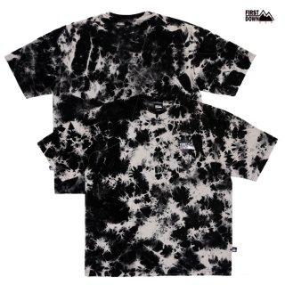 【送料無料】FIRST DOWN TIE DYE Tシャツ【BLACK】