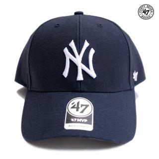 47 BRAND MVP CAP NEW YORK YANKEES【NAVY】