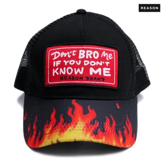 【送料無料】REASON CLOTHING NO BRO MESH CAP【BLACK】
