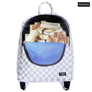 【送料無料】REASON CLOTHING GOLD BRICKS BACKPACK【WHITE】