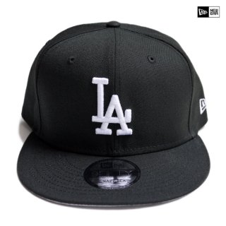 【送料無料】NEW ERA SNAPBACK CAP LOS ANGELES DODGERS【BLACK】