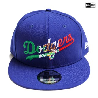 【送料無料】NEW ERA SNAPBACK CAP LOS ANGELES DODGERS【BLUE】