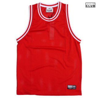 【送料無料】PRO CLUB CLASSIC BASKETBALL JERSEY【RED】