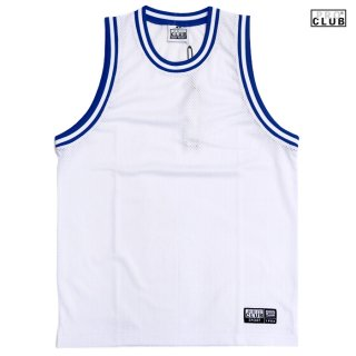 【送料無料】PRO CLUB CLASSIC BASKETBALL JERSEY【WHITE×BLUE】