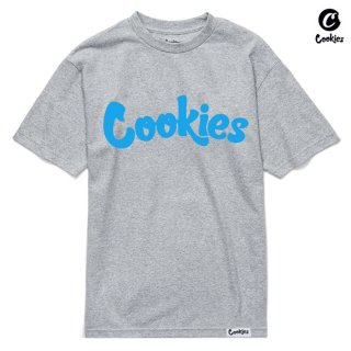 【送料無料】COOKIES SF THIN MINT Tシャツ【GRAY×BLUE】