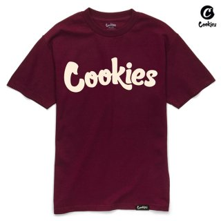 【送料無料】COOKIES SF THIN MINT Tシャツ【BURGUNDY】