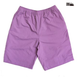 【送料無料】FIRST DOWN COZY SHORTS【PURPLE】