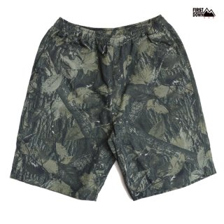 【送料無料】FIRST DOWN COZY SHORTS【TREE CAMO】
