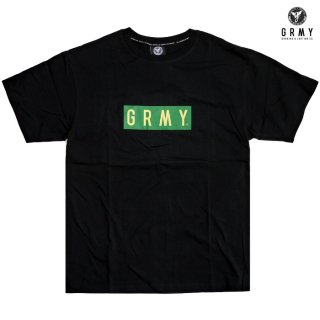 【送料無料】GRIMEY BOX LOGO T-SHIRTS【BLACK】
