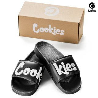 【送料無料】COOKIES SF ORIGINAL LOGO SLIDES【BLACK】