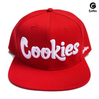 【送料無料】COOKIES SF THIN MINT SNAPBACK CAP【RED】