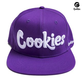 【送料無料】COOKIES SF THIN MINT SNAPBACK CAP【PURPLE】