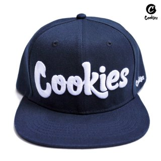 【送料無料】COOKIES SF THIN MINT SNAPBACK CAP【NAVY】