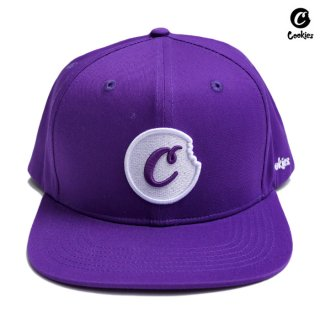 【送料無料】COOKIES SF C BITE SNAPBACK CAP【PURPLE】