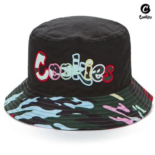 【送料無料】COOKIES SF ESCOBAR BUCKET HAT【BLACK】