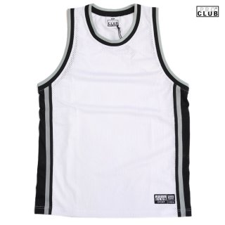 【送料無料】PRO CLUB CLASSIC BASKETBALL JERSEY【WHITE×BLACK】