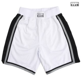 【送料無料】PRO CLUB CLASSIC BASKETBALL SHORTS【WHITE×BLACK】