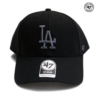 '47 MVP CAP LOS ANGELES DODGERS【BLACK×GRAY】
