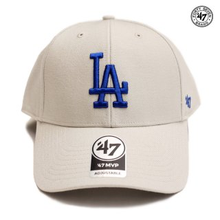47 BRAND MVP CAP LOS ANGELES DODGERS【BONE】