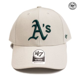 47 BRAND MVP CAP OAKLAND ATHLETICS【BONE】