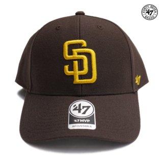 '47 MVP CAP SAN DIEGO PADRES【BROWN】