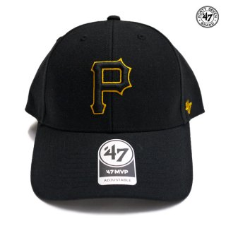 47 BRAND MVP CAP PITTSBURGH PIRATES【BLACK】
