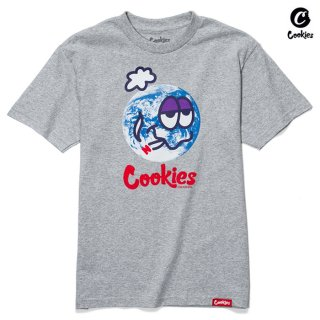 【送料無料】COOKIES SF GLOBAL WARMING Tシャツ【H.GRAY】