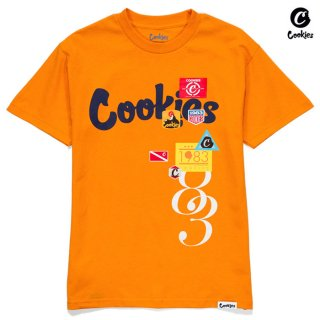 【送料無料】COOKIES SF COLORES Tシャツ【ORANGE】