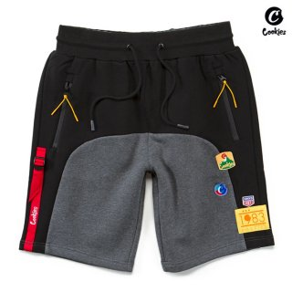【送料無料】COOKIES SF COLORES SWEAT SHORTS【BLACK】