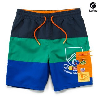 【送料無料】COOKIES SF COLORES BOARD SHORTS【NAVY×BLUE】