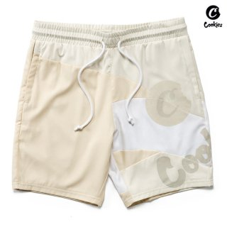 【送料無料】COOKIES SF PRIMAVERA BOARD SHORTS【TAN】