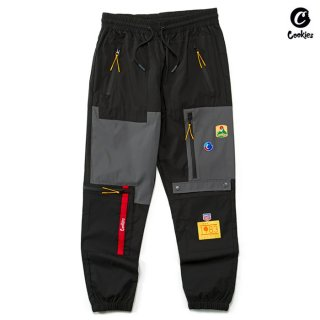 【送料無料】COOKIES SF COLORES SWEAT PANTS【BLACK】