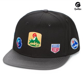 【送料無料】COOKIES SF COLORES SNAPBACK CAP【BLACK×GRAY】