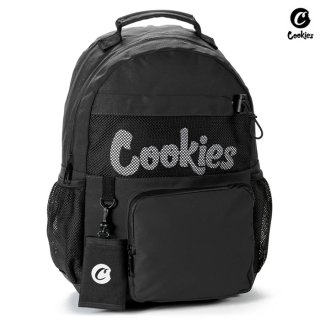 【送料無料】COOKIES SF STASHER SMELL PROOF BACKPACK【BLACK】