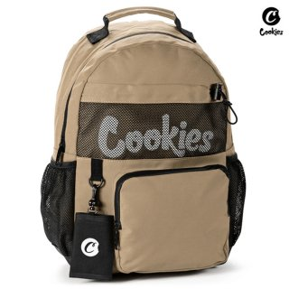 【送料無料】COOKIES SF STASHER SMELL PROOF BACKPACK【TAN】