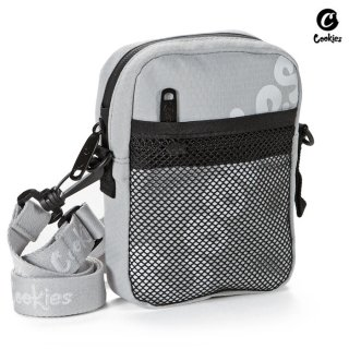 【送料無料】COOKIES SF HONEYCOMB SMELL PROOF SHOULDER BAG【GRAY】