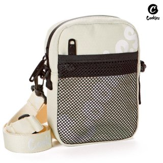 【送料無料】COOKIES SF HONEYCOMB SMELL PROOF SHOULDER BAG【CREAM】
