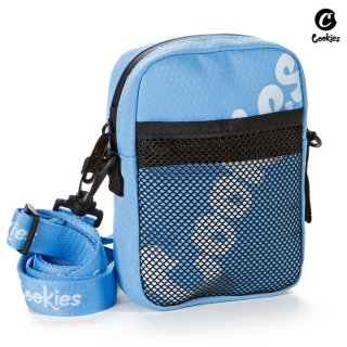 【送料無料】COOKIES SF HONEYCOMB SMELL PROOF SHOULDER BAG【BLUE】