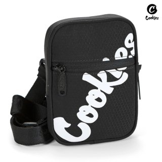 【送料無料】COOKIES SF HONEYCOMB SMELL PROOF SHOULDER BAG【BLACK】