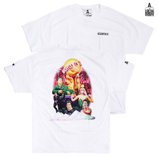 【送料無料】FOR THE HOMIES SCARFACE Tシャツ【WHITE】