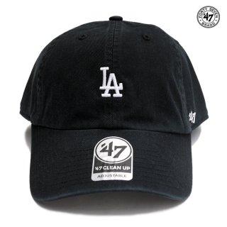 【メール便対応】'47 CLEAN UP CAP LOS ANGELES DODGERS【BLACK】
