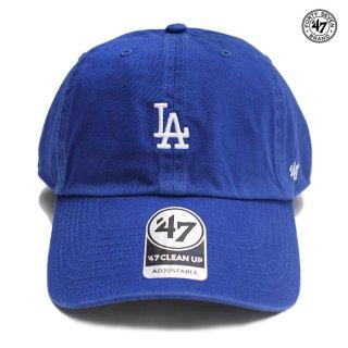 【メール便対応】'47 CLEAN UP CAP LOS ANGELES DODGERS【BLUE】