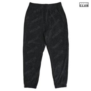 【送料無料】PRO CLUB TERRY PANTS【BLACK】