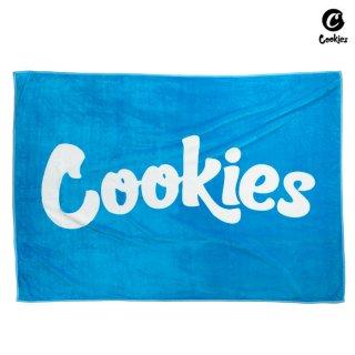 【送料無料】COOKIES SF JACQUARD LOGO BLANKET【COOKIES BLUE】