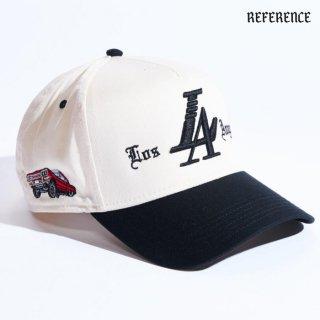 【送料無料】REFERENCE LA VIDA SNAPBACK CAP【CREAM】