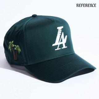 【送料無料】REFERENCE PARADISE SNAPBACK CAP【DARK GREEN】