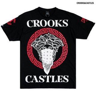 【送料無料】CROOKS & CASTLES CARDINAL 2 Tシャツ【BLACK】