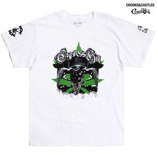 【送料無料】CROOKS & CASTLES × CYPRESS HILL Tシャツ【WHITE】