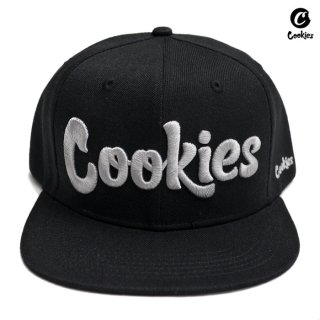 【送料無料】COOKIES SF THIN MINT SNAPBACK CAP【BLACK×GRAY】