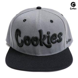 【送料無料】COOKIES SF THIN MINT SNAPBACK CAP【GRAY×BLACK】